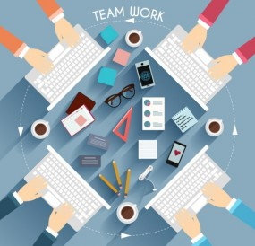 teamwork-with-keyboard-illustration_23-2147532285